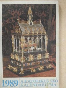 Bíró Imre - A Katolikus Szó Kalendáriuma 1989 [antikvár]