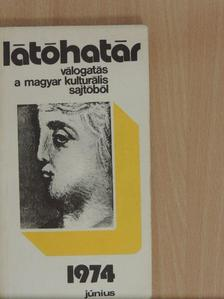 Banos János - Látóhatár 1974. június [antikvár]