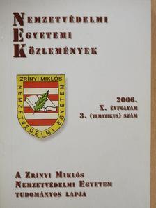 Botos Csaba - Nemzetvédelmi egyetemi közlemények 2006/3. [antikvár]