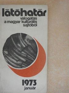 Csanádi Imre - Látóhatár 1973. január [antikvár]