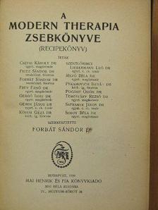 Dr. Csépai Károly - A modern therapia zsebkönyve [antikvár]