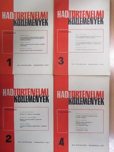 Dimitrij Fjodorovics Loza - Hadtörténelmi Közlemények 1967/1-4. [antikvár]