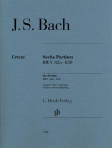 J. S. Bach - SECHS PARTITEN BWV 825-830 (ULRICH SCHNEIDER) OHNE FINGERSATZ!
