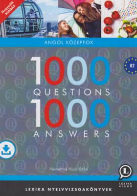 Némethné Hock Ildikó - 1000 Questions 1000 Answers - Angol középfok 4.kiad.
