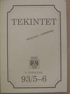 Bata Imre - Tekintet 1993/5-6 [antikvár]