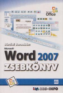BÁRTFAI BARNABÁS - Microsoft Word 2007 zsebkönyv [antikvár]