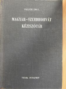 Oláh József - Magyar-szerbhorvát kéziszótár [antikvár]