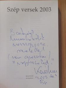 Acsai Roland - Szép versek 2003 (dedikált példány) [antikvár]