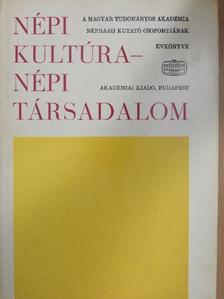 Bodrogi Tibor - Népi kultúra - Népi társadalom X. [antikvár]