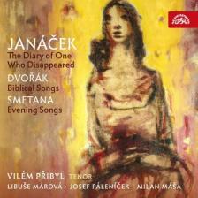 JANÁCEK, DVORÁK, SMETANA - THE DIARY OF ONE CD PRIBYL