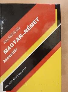 Halász Előd - Magyar-német kéziszótár [antikvár]