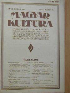 Binder Hubert - Magyar Kultúra 1931. május 5. [antikvár]