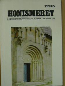 Krisztián Béla - Honismeret 1993/5. [antikvár]
