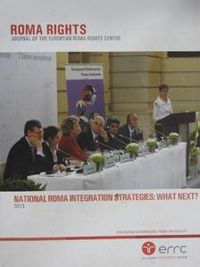 Gellér Judit - Roma Rights 2013. December [antikvár]