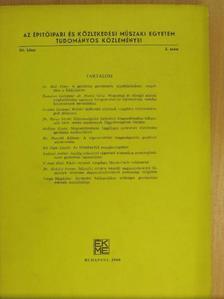 Domokos Györgyné - Az Építőipari és Közlekedési Műszaki Egyetem Tudományos Közleményei XII/2. [antikvár]