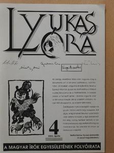 Aletta Vid - Lyukasóra 2003. április [antikvár]
