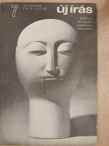 Agárdi Péter - Új Írás 1972. július [antikvár]