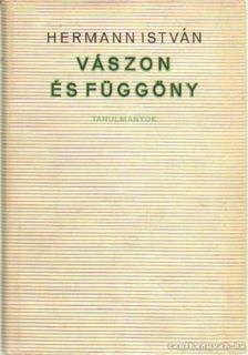 Hermann István - Vászon és függöny [antikvár]