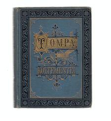Tompa Mihály - Ódák , dalok, románczok I. [antikvár]