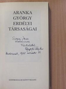 Enyedi Sándor - Aranka György erdélyi társaságai (dedikált példány) [antikvár]