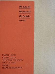 A. Guimera - Szegedi Nemzeti Színház 1965/66 [antikvár]