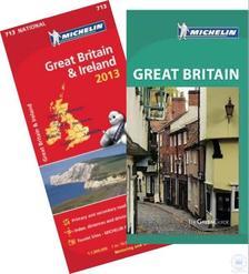 Michelin - Nagy-Britannia útikönyv ajándék Nagy-Britannia/Írország térképpel