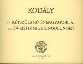 KOD - 33 KÉTSZÓLAMÚ ÉNEKGYAKORLAT