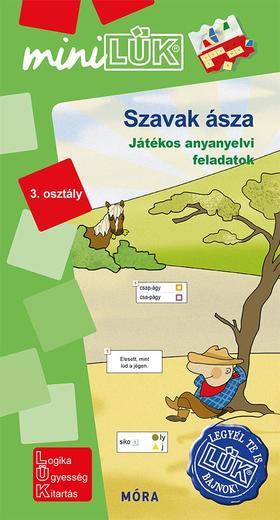 LDI552 - Szavak ásza - Játékos anyanyelvi feladatok 3. osztály
