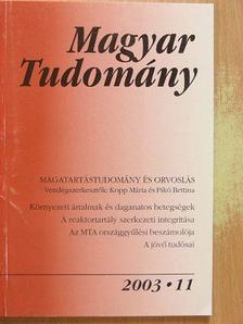 Barabás Katalin - Magyar Tudomány 2003. november [antikvár]