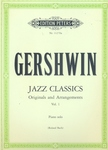 GERSHWIN - JAZZ CLASSICS, ORIGINALS AND ARRANGEMENTS VOL.1 FOR PIANO SOLO (R.BACH)