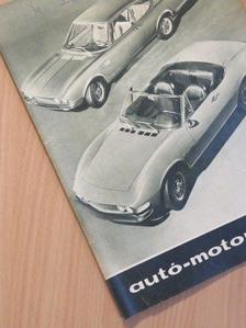 G. Szabó Judit - Autó-Motor 1967. április 21. [antikvár]