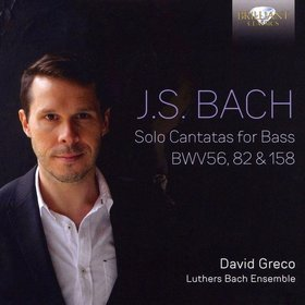 Bach - SOLO CANTATAS FOR BRASS BWV56, 82 C 158 CD DAVID GRECO