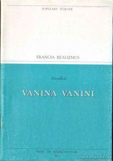 Stendhal - Vanina Vanini [antikvár]