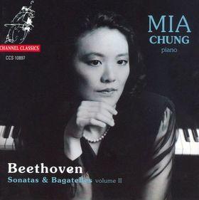 BEETHOVEN - 11 BAGATELLEN OP.119, SONATAS OP.109,57 CD CHUNG