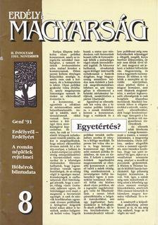 Köteles Pál - Erdélyi Magyarság II. évf. 1991. november [antikvár]