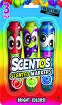 .- - Scentos Illatos filctoll készlet 3 db - piros, zöld ,kék