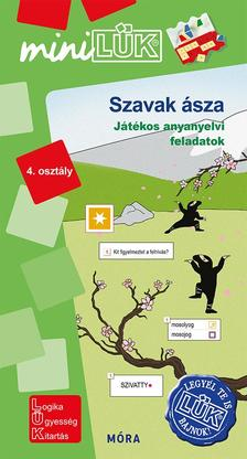 LDI553 - Szavak ásza - Játékos anyanyelvi feladatok 4. osztály