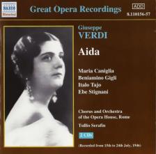 Verdi - AIDA 2CD SERAFIN