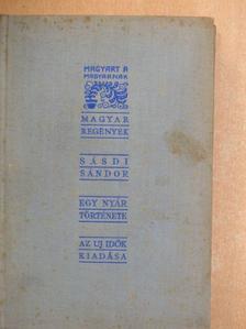 Sásdi Sándor - Egy nyár regénye [antikvár]