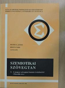 Balázs Géza - Szemiotikai szövegtan III. [antikvár]