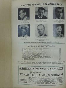 Cs. Sebestyén Károly - Búvár 1940. június [antikvár]