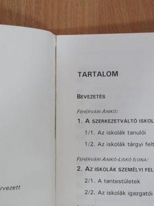 Fehérvári Anikó - Szerkezetváltó iskolák a kilencvenes években [antikvár]
