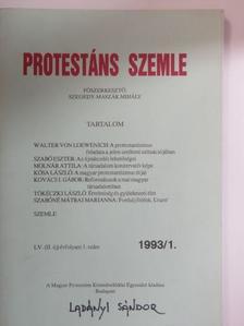 Kolozsi Béla - Protestáns Szemle 1993/1. [antikvár]