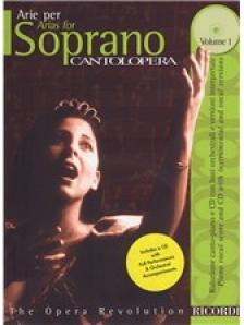 CANTOLOPERA: ARIE PER SOPRANO VOL.1 PER CANTO E PIANO + CD