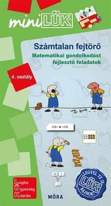 LDI550 - Számtalan fejtörő 4. osztály - Matematikai gondolkodást fejlesztő feladatok