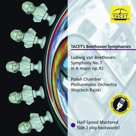 BEETHOVEN - TACET'S BEETHOVEN SYMPHONIES NO.7 LP WOJCIECH RAJSKI