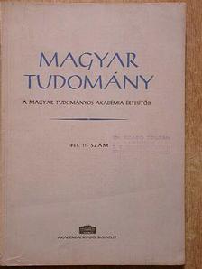 Adler Péter - Magyar Tudomány 1961. november [antikvár]