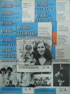 Buzsik Pál - Rádiótechnika 1980. január-december [antikvár]