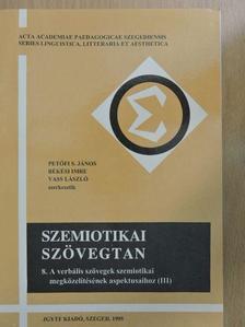 Bencze Lóránt - Szemiotikai szövegtan VIII. [antikvár]