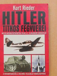 Géczi Zoltán - Hitler titkos fegyverei [antikvár]